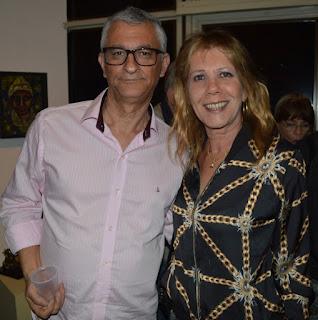 Márcio de Paula e Silvia Mattar (viúva de Sami Mattar)