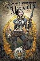 Comic Lady Mechanica, portada