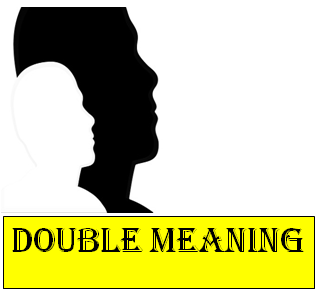 double meaning sms for facebook or whatsapp