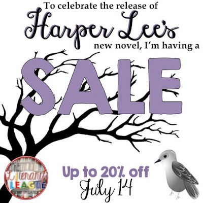 Sale! July 14th Come Together for American author, Harper Lee!
