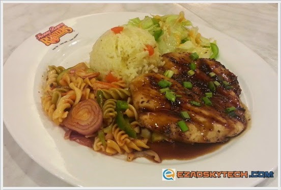Kenny Rogers Terrific Teriyaki Treat : T-Chic Steak
