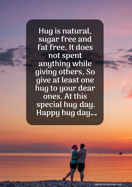 best  #HugDay Wishes for lover