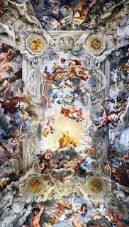 Cortona's masterpiece: the ceiling of the Palazzo Barberini