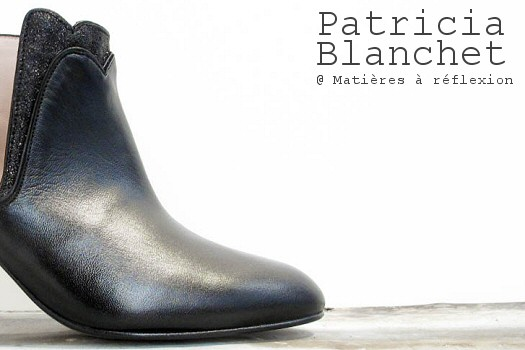 Patricia Blanchet boots noir