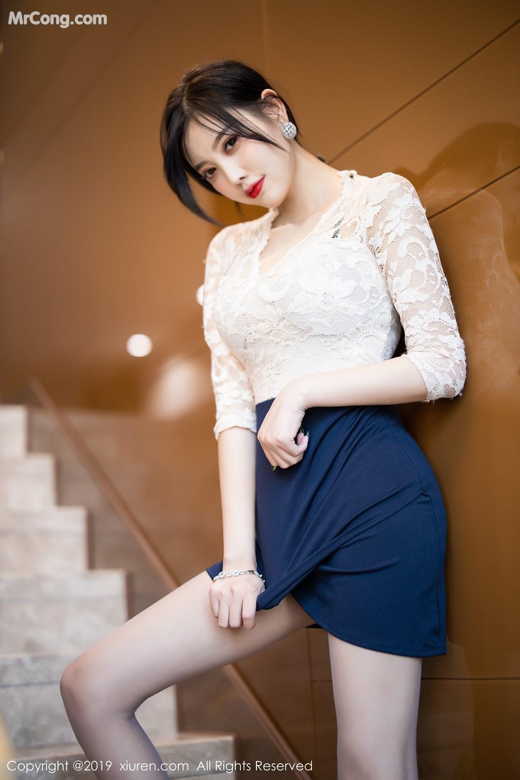 Image XIUREN-No.1717-Yang-Chen-Chen-sugar-MrCong.com-009 in post XIUREN No.1717: Yang Chen Chen (杨晨晨sugar) (71 ảnh)