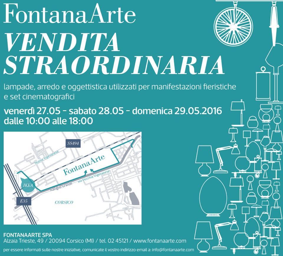 4BildCasa: Vendita straordinaria Fontana Arte