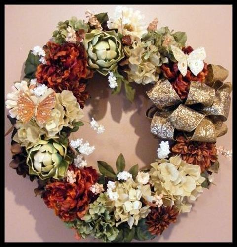 interior decor wreaths
