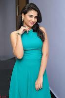 Priya Singh in a sleeveless Green Gown at Manasainodu music launch 011.08.2017 ~ Exclusive Celebrity Galleries 016.JPG