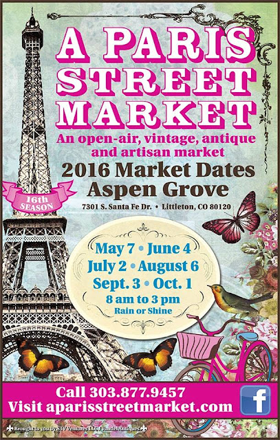 A Paris Street Market Tomorrow!