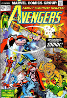 Avengers v1 #120 marvel comic book cover art by Jim Starlin