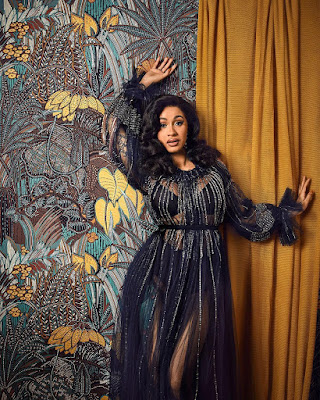 CardiB in stunning snaps for WMag