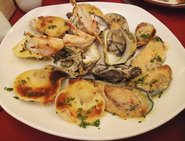 We consumed like 4 servings of these tasty seafoods!