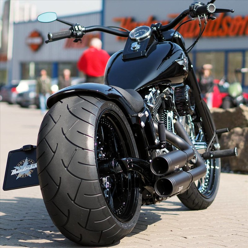 Lovely rear view. Thunderbike Custom Motorcycles