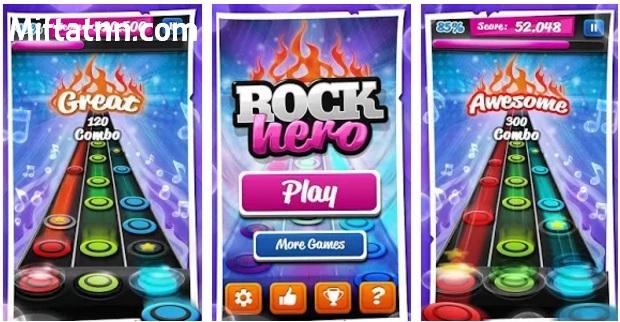 Game Gitar Offline Android Terbaik Rock Hero APK Terbaru