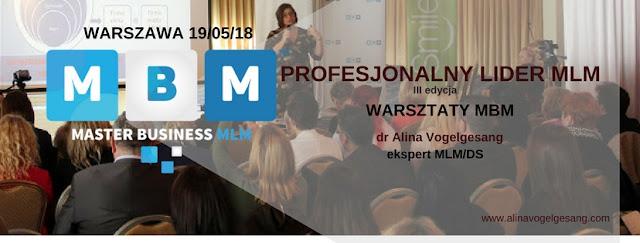 szkolenia Master Business MLM Alina Vogelgesang