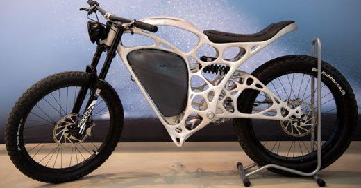 Light Rider es la primera motocicleta impresa en 3D