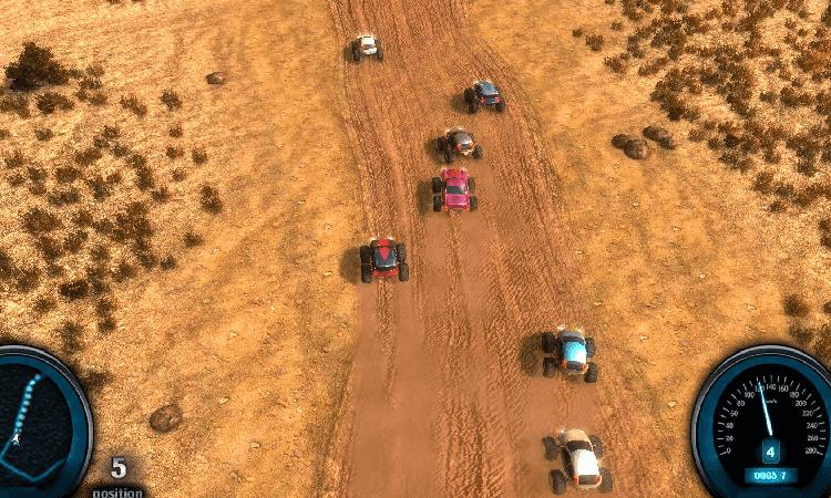 تحميل لعبة سباق الصحراء Desert Race