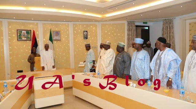 Saraki absent as Buhari meets APC senators