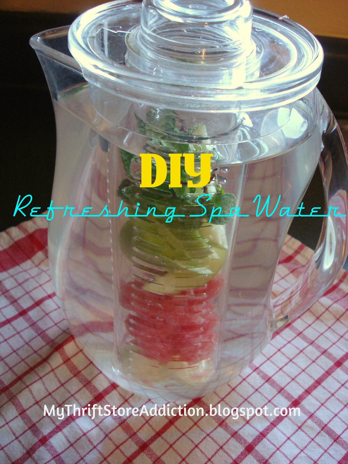 DIY spa water