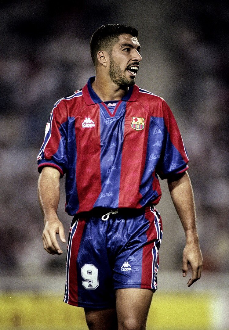 Amazing Current Fc Barcelona Players In Classic Kits By Barca Pictures Futbolgrid