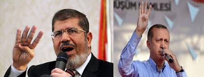 مرسي وأردوغان