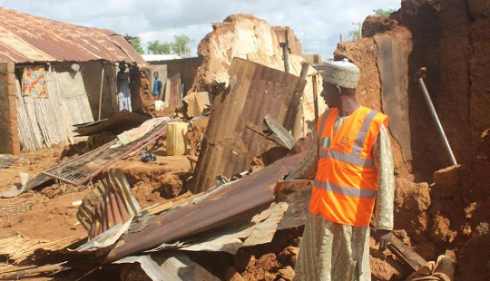 Over 250 houses destroyed by flood & windstorm in Sokoto state (see photos)