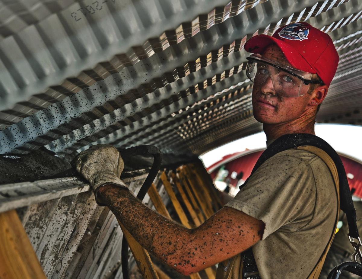 labor day, man working