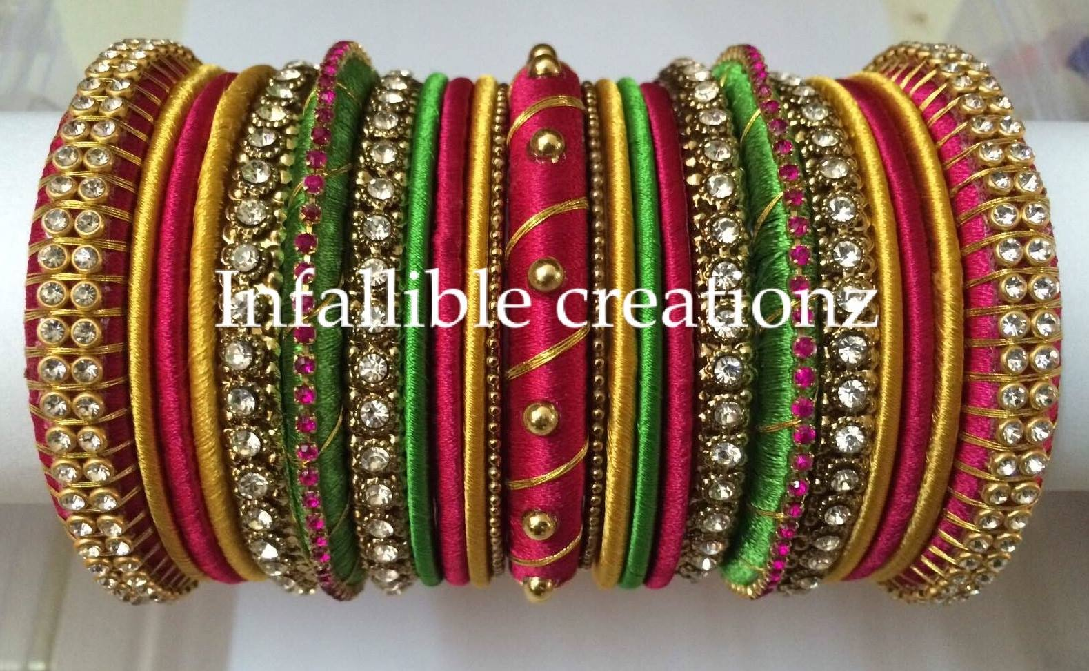 Infalliblecreationz IC - Silk Thread Jewellery: Silk Thread ...