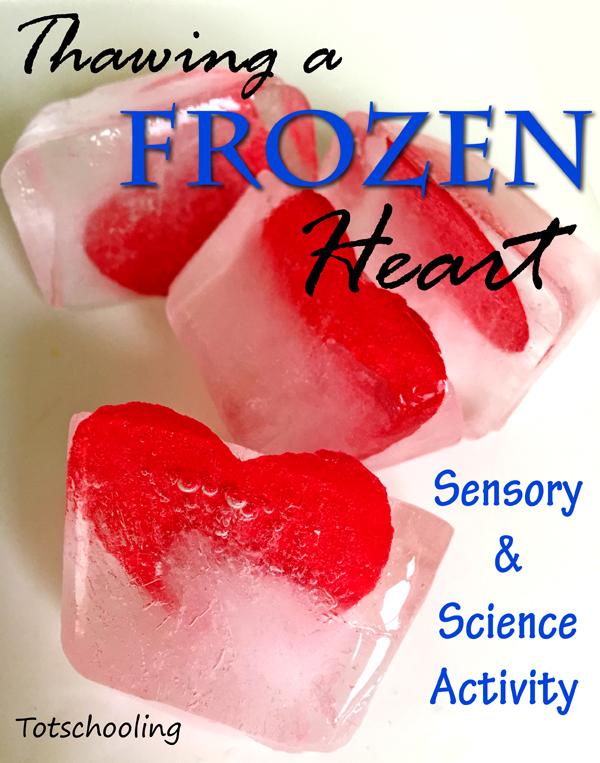 Thawing a Frozen Heart: Sensory Science for Kids