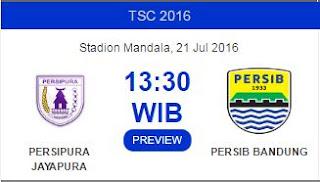 Kickoff Persipura vs Persib