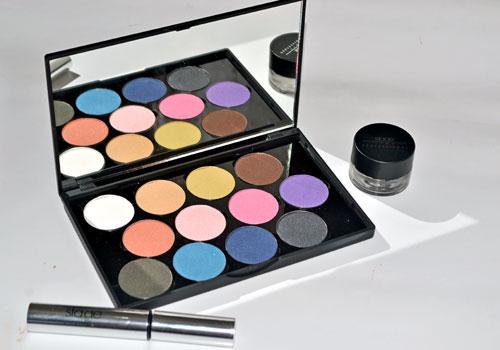 paleta de sombras de ojos stage line maquillaje profesional