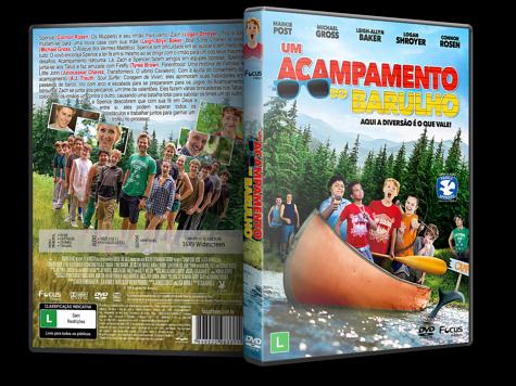Capa DVD Um Acampamento do Barulho [Custom]