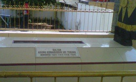 makan sultan agung di kota palembang