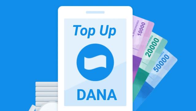 Top Up DANA lewat OVO