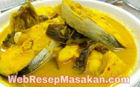 Gulai Ikan Patin Bumbu Kuning, resep gulai ikan patin bumbu kuning, Gulai Ikan Patin,