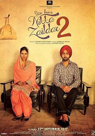 Nikka Zaildar 2 (2017) Punjabi 720p HDRip 990mb