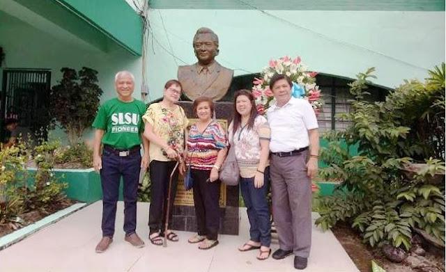 Dator family commemorates SLSU 54th foundation anniversary
