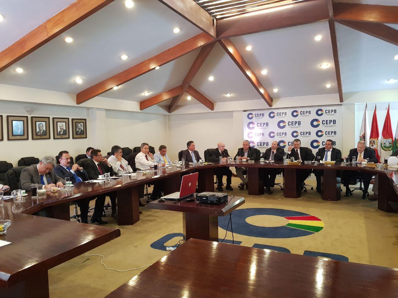 La empresa privada en Bolivia se encuentra en estado de emergencia / CEPB