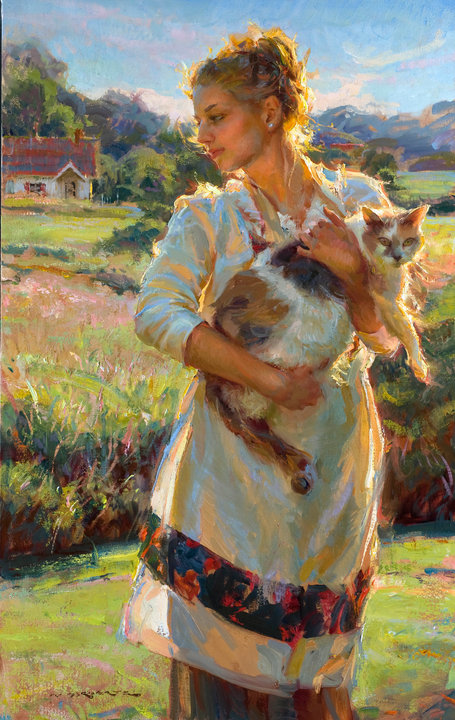 Daniel F. Gerhartz, 1965 ~ pintor figurativo