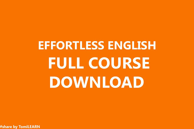 Ebook Effortless English Full