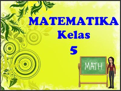 Materi Matematika Kelas 5 SD Pengukuran Waktu, Sudut, Jarak, dan Kecepatan, https://gurujumi.blogspot.com/