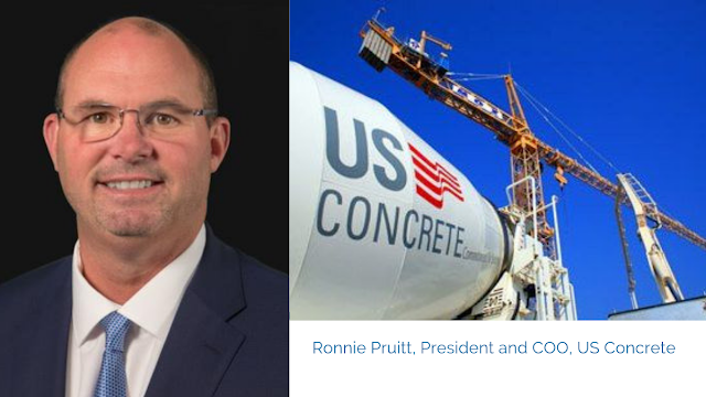 Rockwall County's Ronnie Pruitt named President and COO of fast growing Euless-based company US Concrete with $1.5 billion in annual sales