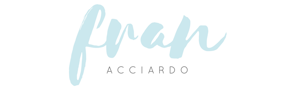 Fran Acciardo - NYC Lifestyle Blog, Post-Grad Lifestyle Blogger