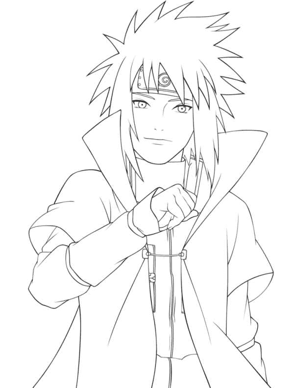 Naruto sage kyuubi mode coloring sheet pictures to pin on for Naruto coloring pages online