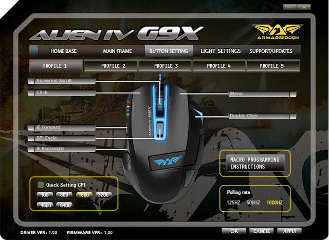 First Look & Review - Armaggeddon Alien IV G9X Optical Gaming Mouse 38