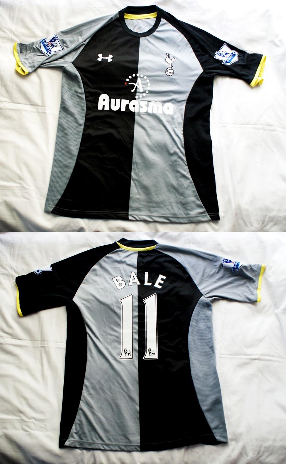 3º Camiseta Tottenham 2012 2013 f31bceac23d32