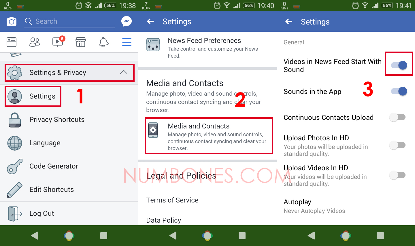 How to Turn Off (Disable) Facebook Video Autoplay on Android