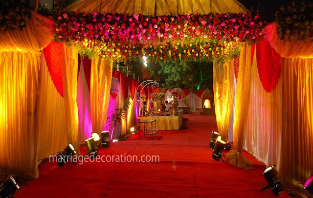 marriage entrance decoration entrance decoration