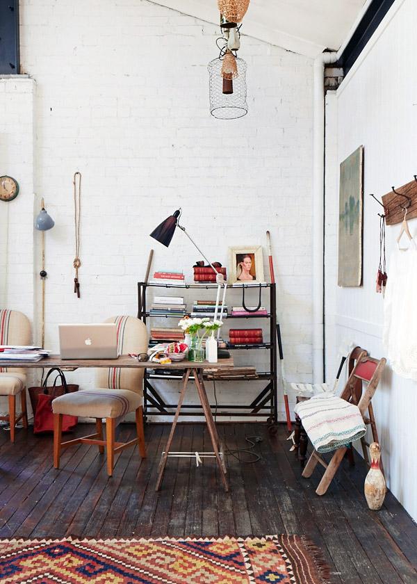 Hogares Singulares - De taller a casa - El sálon