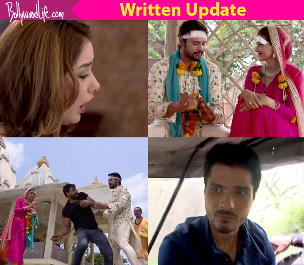 Kumkum Bhagya 26th June 2017 Written Update Of Full Episode: Abhi beats up the goon at the temple while Tanu awaits Abhigya's death